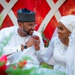 The wedding of Hanan, President Buhari's Daughter.